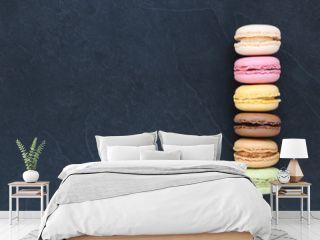 Macarons sur ardoise, carte , menu