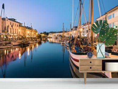 La Sera a Cesenatico, Canale il Porto
