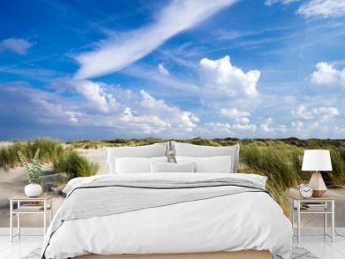 Nordsee, Strand auf Langenoog: Ruhe am Abend, Dünen, Meer, Entspannung, Erholung, Ferien, Urlaub, Meditation :)