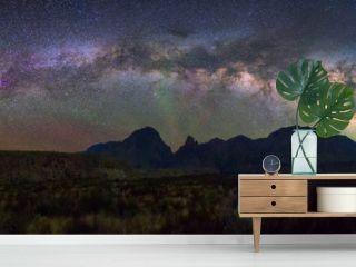 Panoramic Milky way, Big Bend National Park