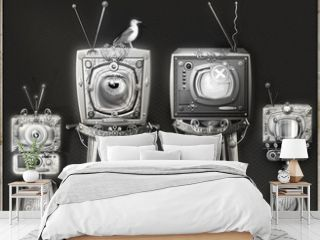 The big brother-steampunk and strange television