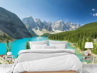 Moraine Lake British Columbia Canada