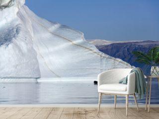 'Iceberg graveyard' in Franz Joseph Fjord - Greenland