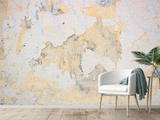 Light yellow rough stucco background
