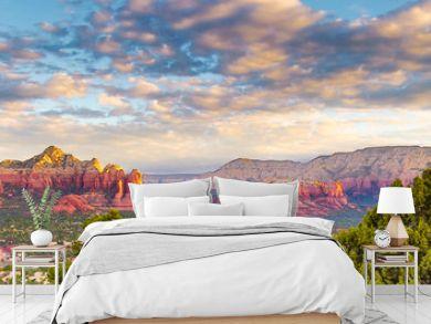 Spiritual Sedona Arizona red rock formations blue sky beauty