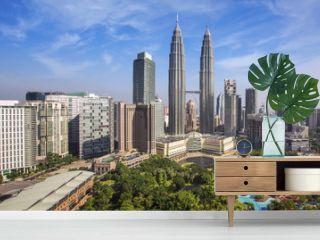 City scape of Kuala lumpur city