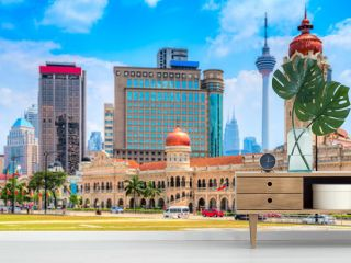 Kuala Lumpur, Malaysia. Sultan Abdul Samad building in Merdeka Square.