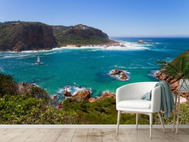 Amazing view of Featherbed, Knysna, Featherbed Nature Reserve, South Africa