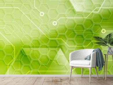 Abstract technology modern industrial web header banner
