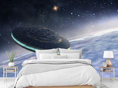 Ufo in orbit