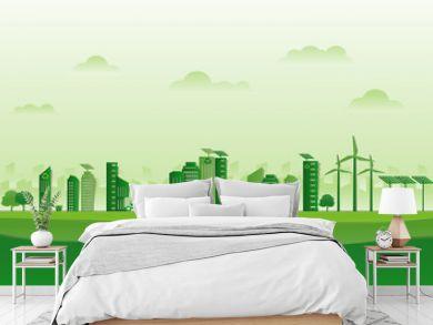 ธรรมชาติสีเขียวสดใสทำใหม่