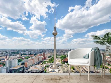 Berlin Skyline Panorama mit Fernsehturm
