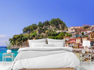 Parga, Greece, Beautiful Greek fishing village