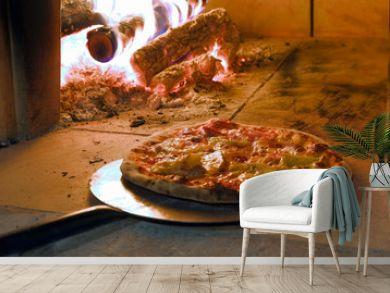Pizza cotta al forno