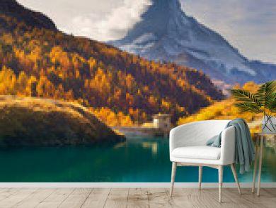 mountain lake Stellisee