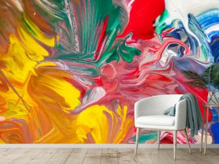 Colorful art paint background