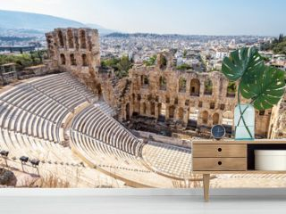 Odeon of Herodes Atticus, ancient Greek theater, Athens, Greece