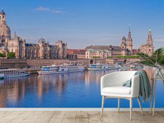 Dresden – Brühlsche Terrasse  Deutschland