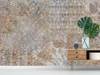 vintage floral background, patchwork