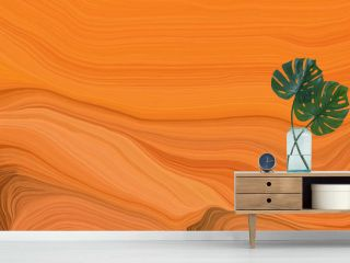 orange wave lines from top left to bottom right. background illustration with bronze, saddle brown and dark red colors