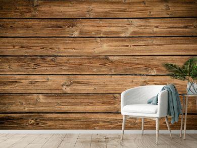 Old brown rustic dark grunge wooden timber texture - wood background banner