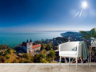Tihany landscape, lake Balaton, Hungary