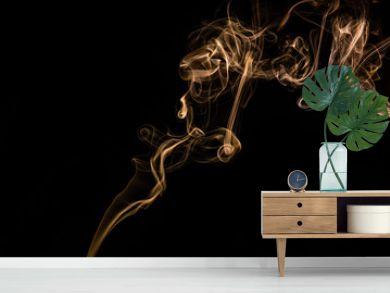Abstract background, closeup of smoke