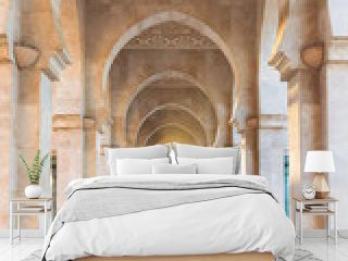 Hassan II Mosque is a mosque in Casablanca, Morocco. It is the largest mosque in Africa and the 3rd largest in the world. Its minaret is the world's second highest minaret at 210m Construction details
