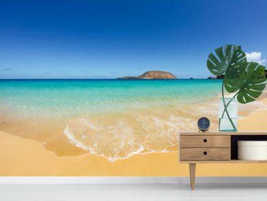 Las Conchas Beach, Canary Islands, Spain