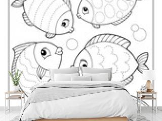Activity sheet fish theme 1