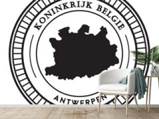 Antwerpen map sticker