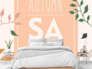 autumn sale sign