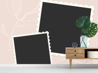 cute photo frame template