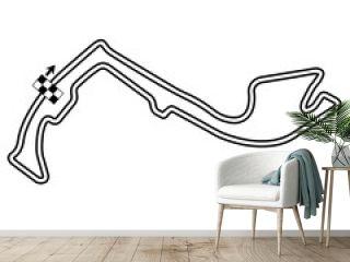 Monaco, Map, RaceTrack, Race, Track, Vector
