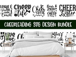 Cheerleading looks beautiful design quotes, Calligraphy graphic design typography element. Hand written cute simple black vector sign, Sweet cute inspiration typography