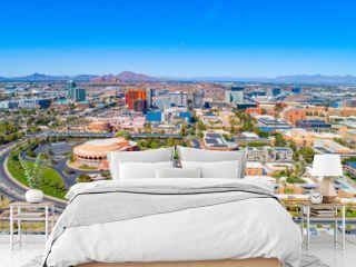 Tempe, Arizona, USA Drone Skyline Aerial Panorama
