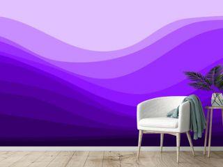 minimalist landscape purple flat design vector illustration for wallpaper, background, backdrop, web banner, and template