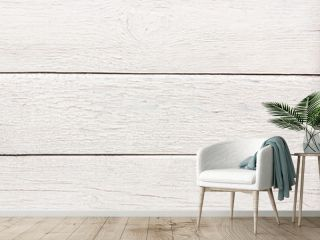 White wood background texture with space for text