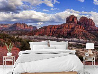 View of Cathedral Rock in Sedona, Arizona