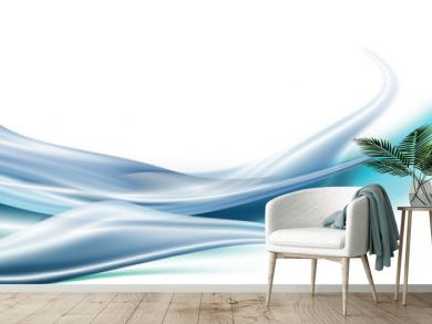 silk in wave