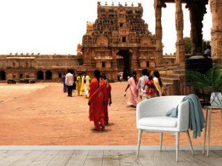 india, south-india, tanjore: brihadishvara temple
