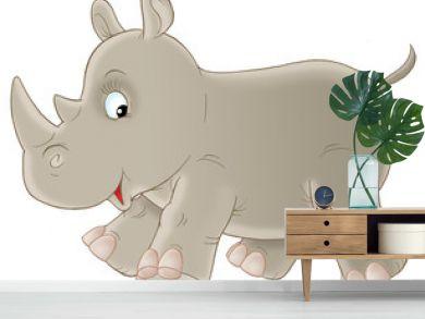 grey rhinoceros