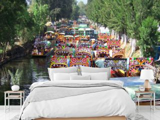 boats of xochimilco