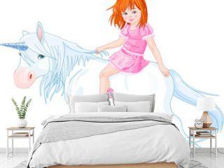 Princess on unicorn