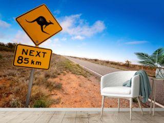 Outback Kangaroo Sign