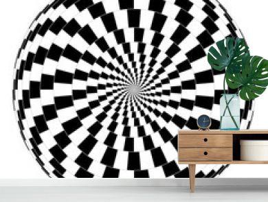 Vector spiral optical illusion