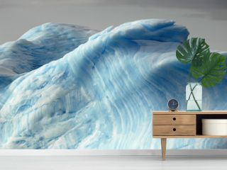 Blue iceberg layers