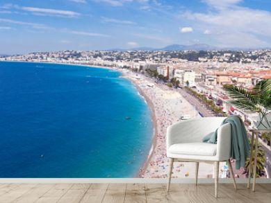 Panorama Côte d'Azur - Nice et sa plage