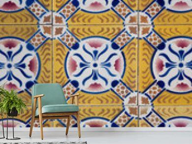 Ornamental old tiles