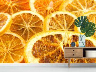 Getrocknete Orangenscheiben